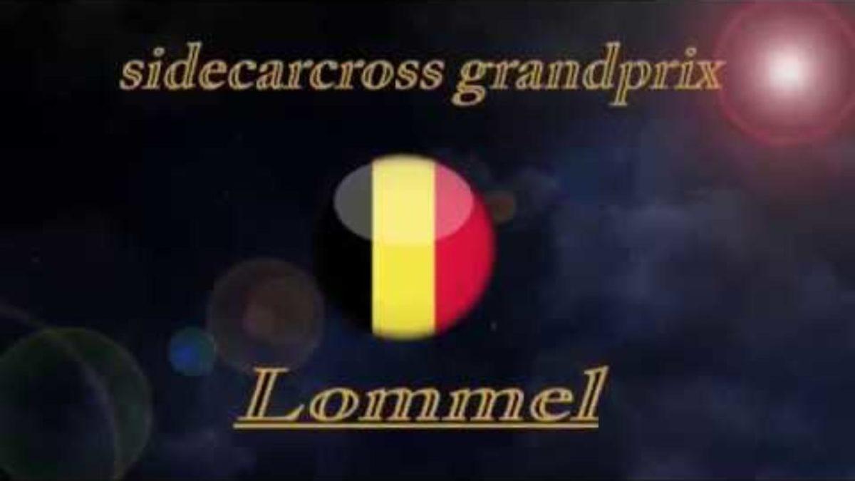 Külgvankrite motokrossi MM 2019, Lommeli sõidud, Luc Vanderaa