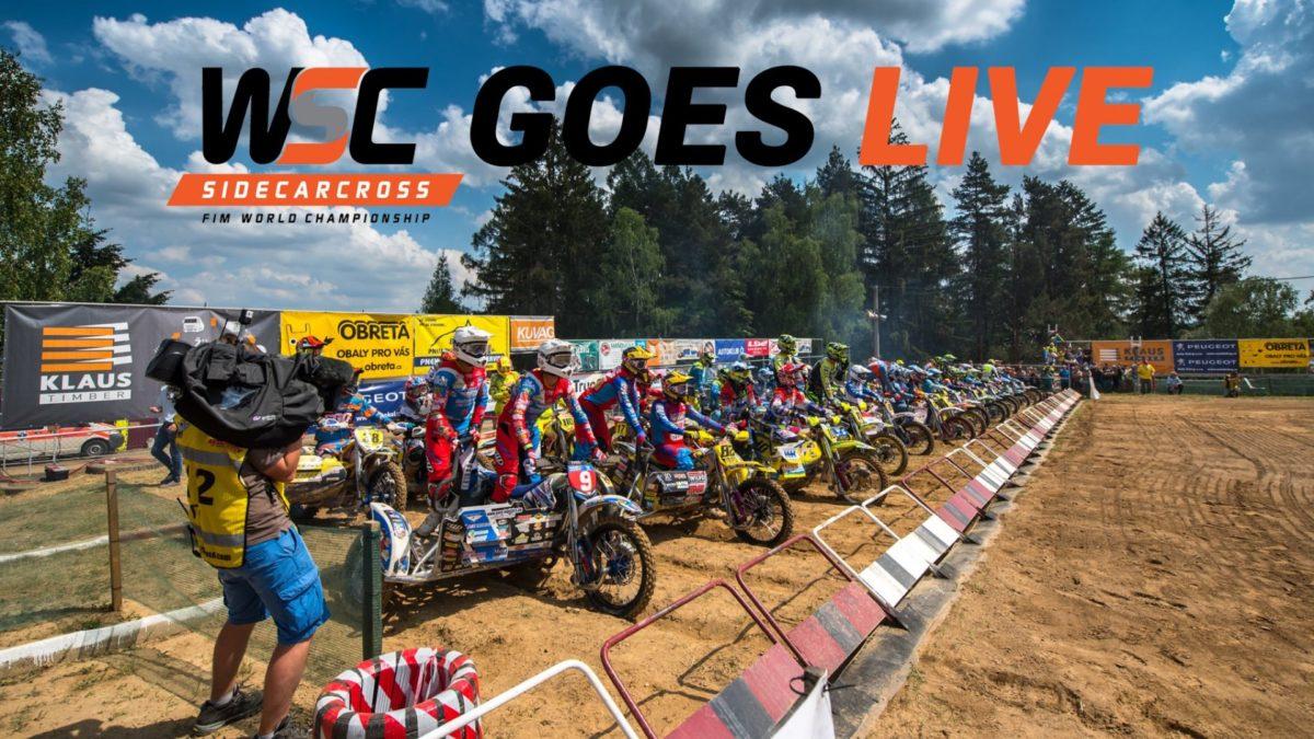 Külgvankrite motokrossi maailmameistrivõistluste 2019. aastal 7 etappi võimalik vaadata LIVE otseülekandena
