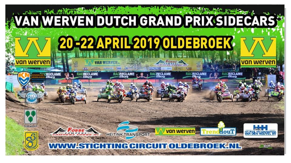 Külgvankrite motokrossi MM 2019, Oldebroek