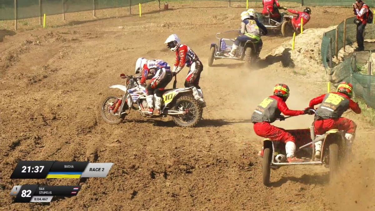 Külgvankrite motokrossi MM 2019, Bucha sõidud, WSC sidecarcross