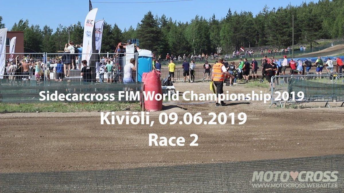 Kiviõli külgvankrite motokrossi MM etapi 2. sõit