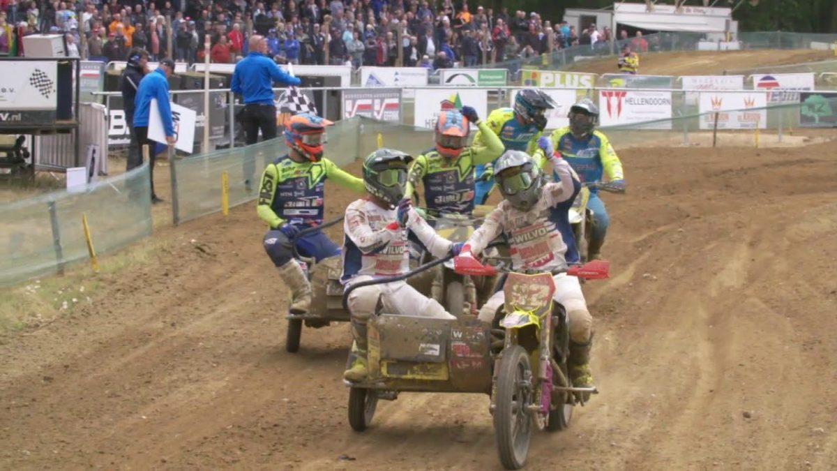 Külgvankrite MM 2019 Hollandi Markelo etapi sõitude kokkuvõtte video – WSC Sidecarcross