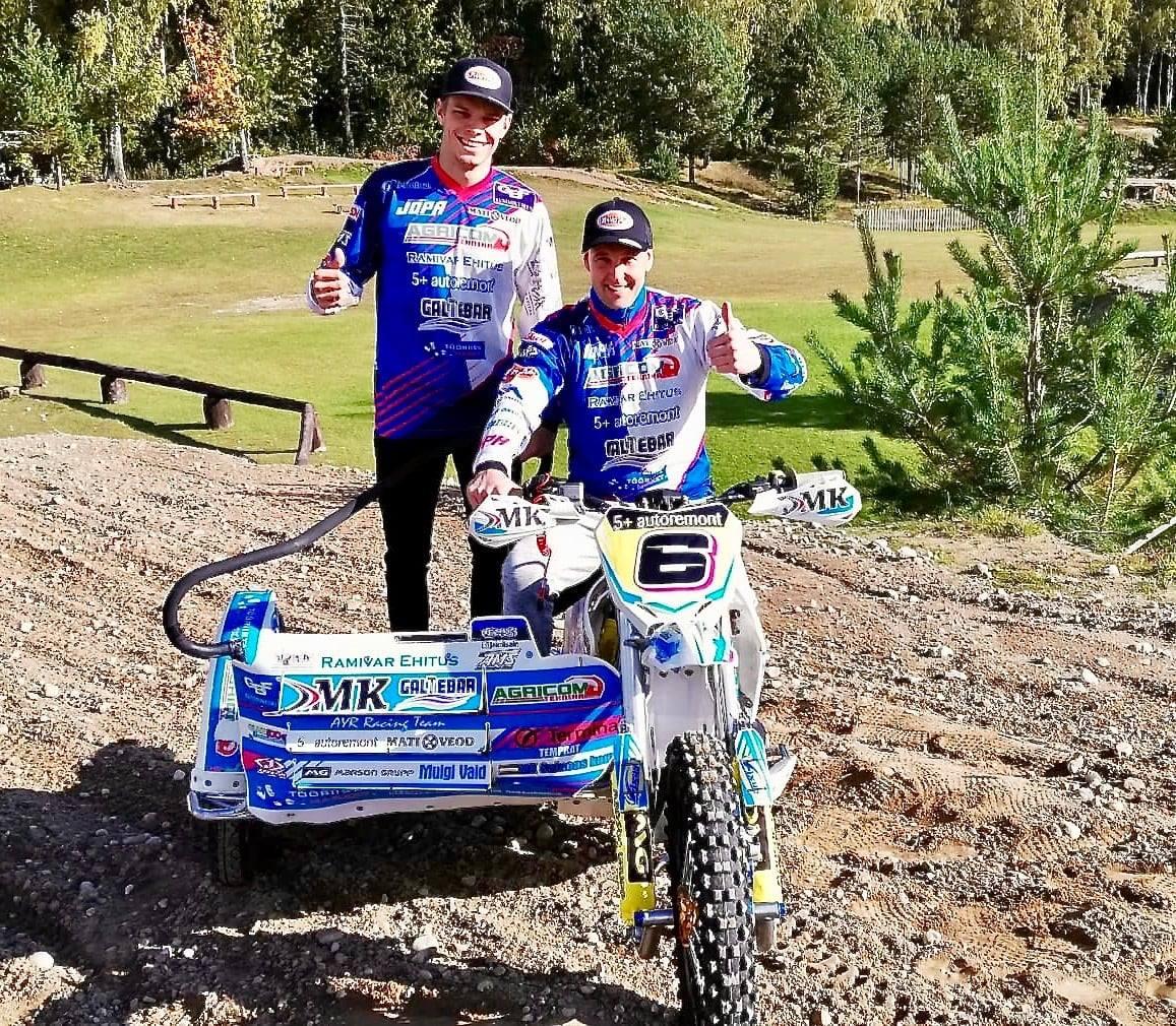 2020 – Külgvankrite MM meeskond: Kert Varik ja Lari Kunnas