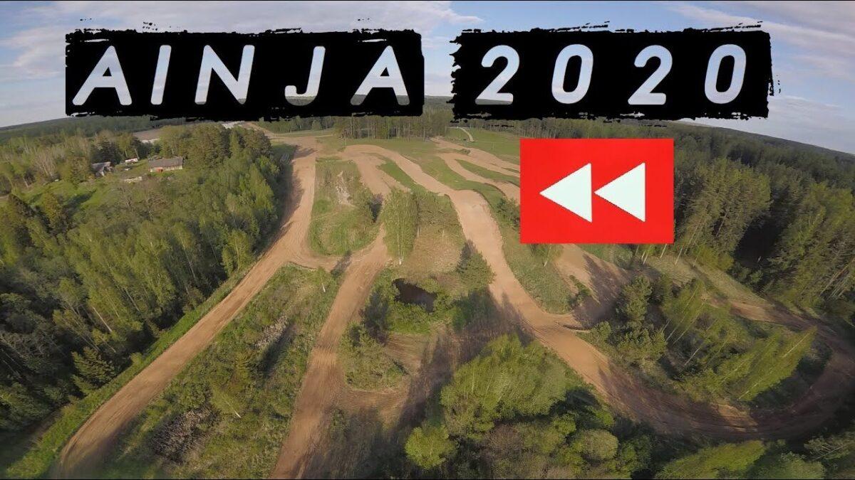 Droonivideo uuelt Nuia Anija krossiraja läbimiselt